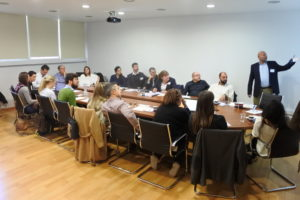 First project meeting in Heraklion
